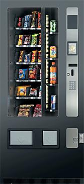 Vendingeautomat Combi 585, Kombi Snack&Getränkeautomaten Köln, Dhünn