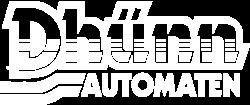 Dhünn Automaten Köln Logo White