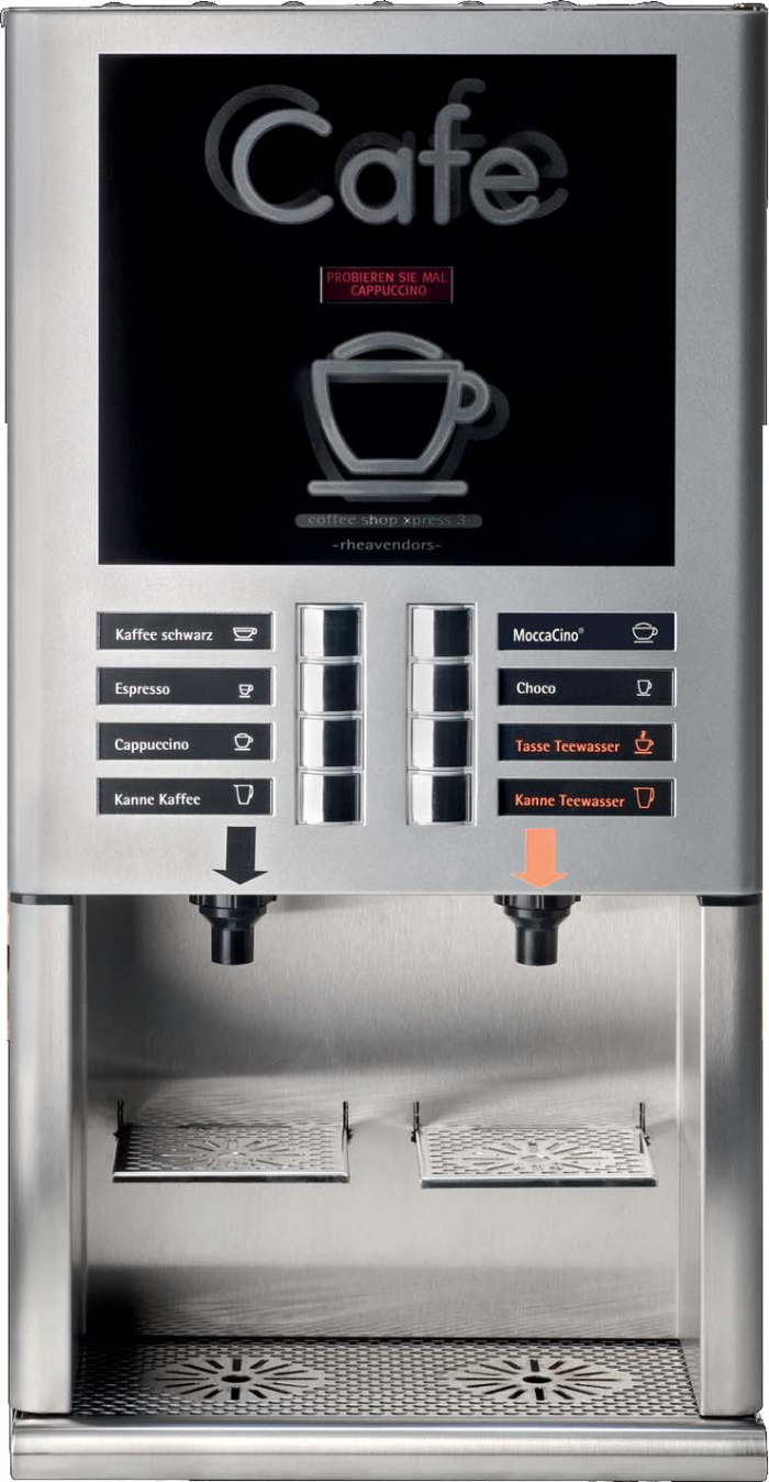 Kaffeeautomat Horeca X-Press 3 Speed Details
