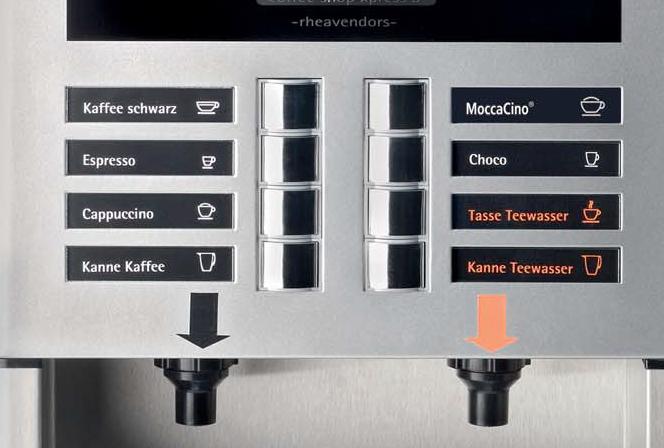 Kaffeeautomat Horeca X-Press 3 Speed Details Auswahl
