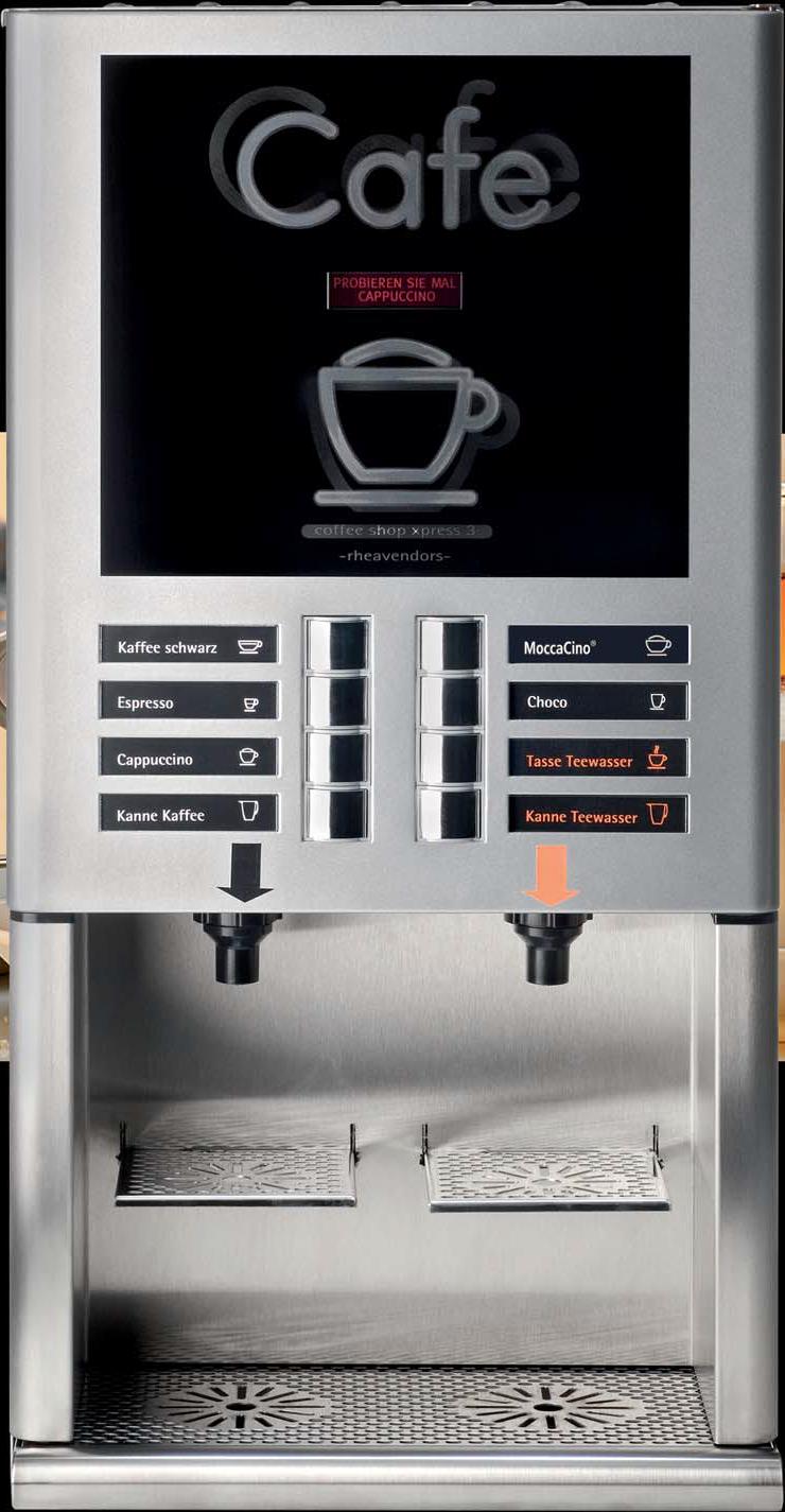 Kaffeeautomat Horeca X-Press 3 Speed Details