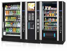 Snackautomat, Süßigkeitenautomat sandenvendo g-snack Design Linie Drink & Snack automaten