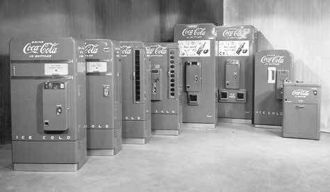 sandenvendo coca cola automaten 50er Jahre
